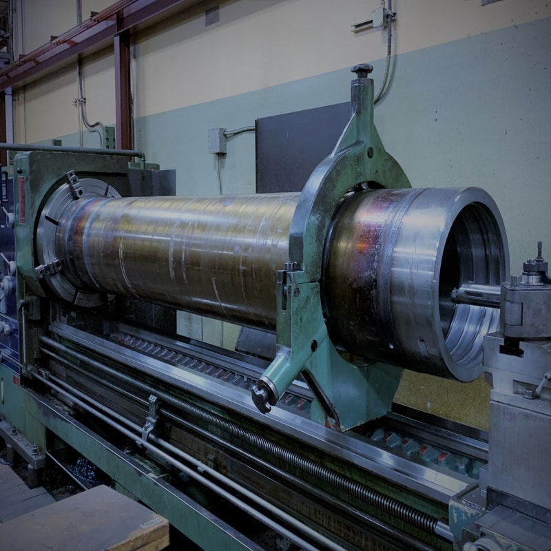 cylinder rebuiling and resurfacing, honing, hard chroming hydraulic cylinders