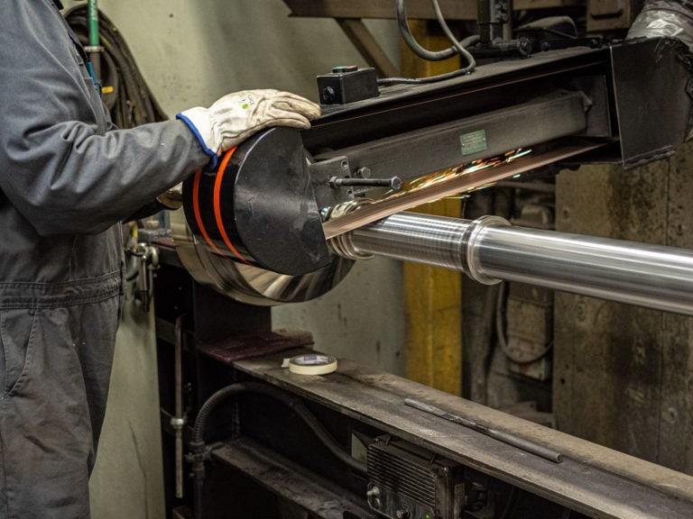 Hydraulic Cylinder Hard Chrome Plating Polishing Edmonton