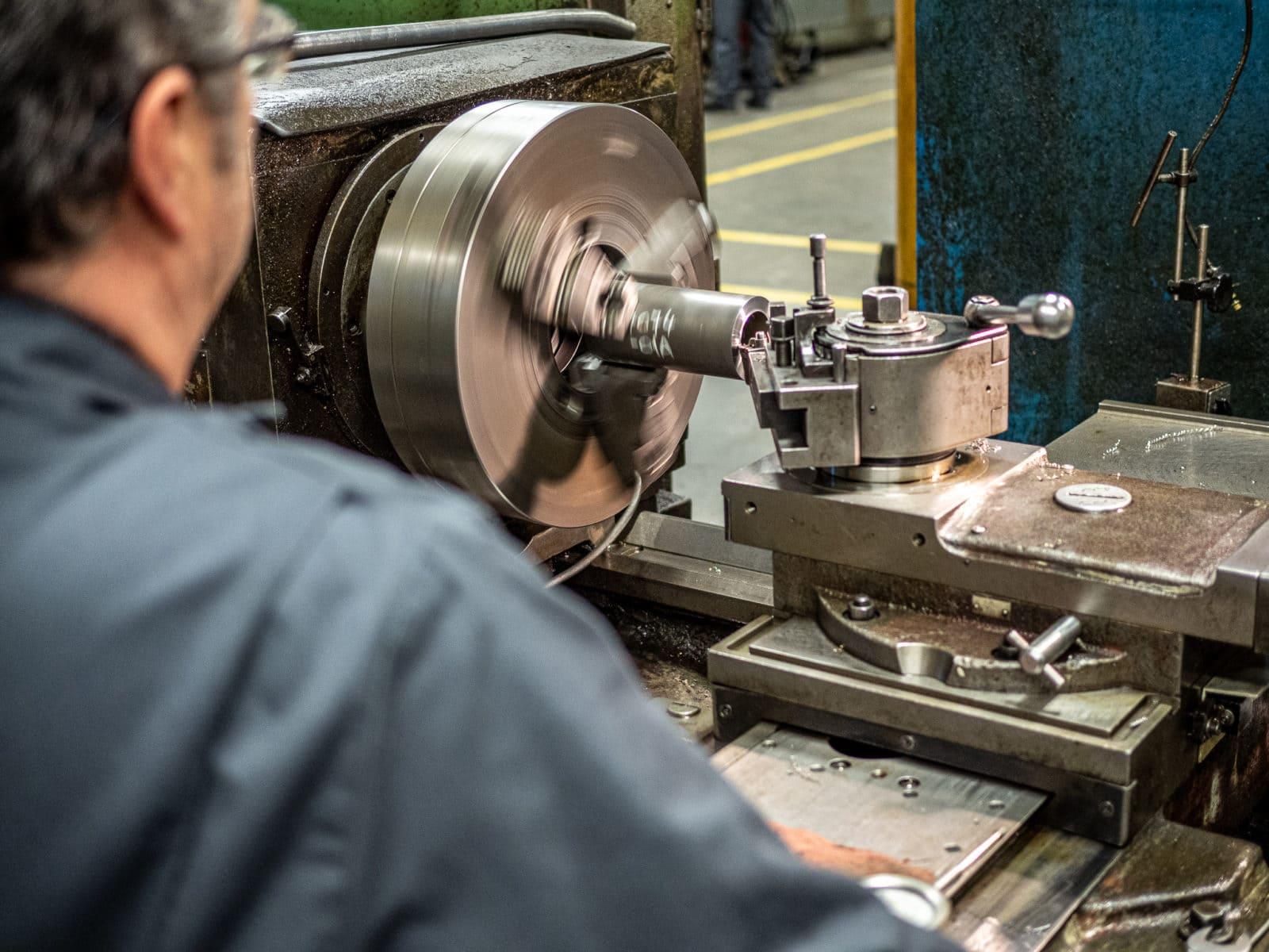 Hydraulic Cylinder Lathe Machining Edmonton