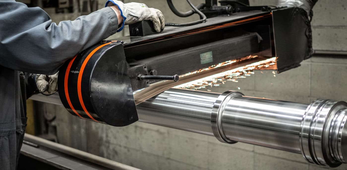 Hydraulic Cylinder Service Hard Chrome Plating Chroming Polish
