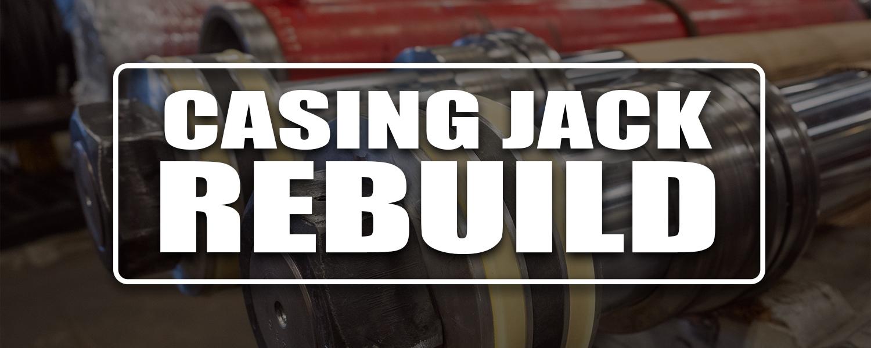 Hydraulic Cylinder Casing Jack Downhole Equipment Repair Manufacturing Service Edmonton Canada