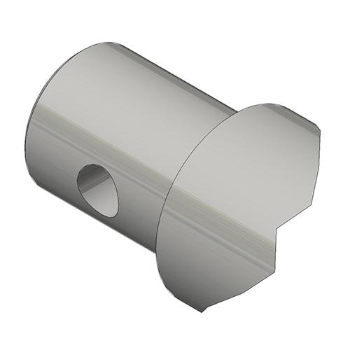 Hydraulic Cylinder Custom Mounting Connection Drill hole through