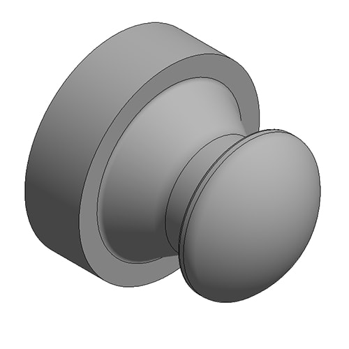 Hydraulic Cylinder Custom Mounting Connection Radius